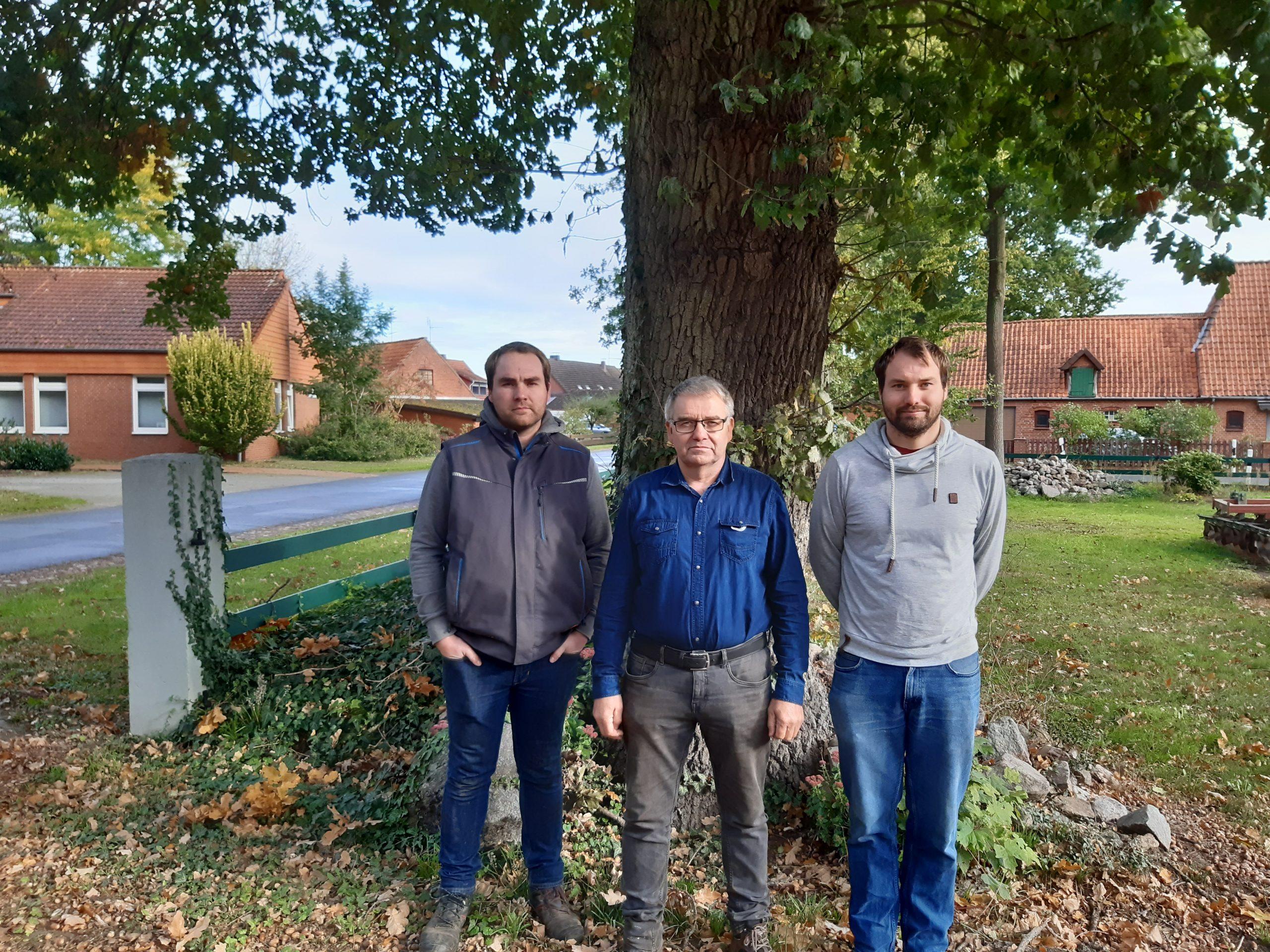 Eike, Heinrich und Helge Müller, Foto: KÖN