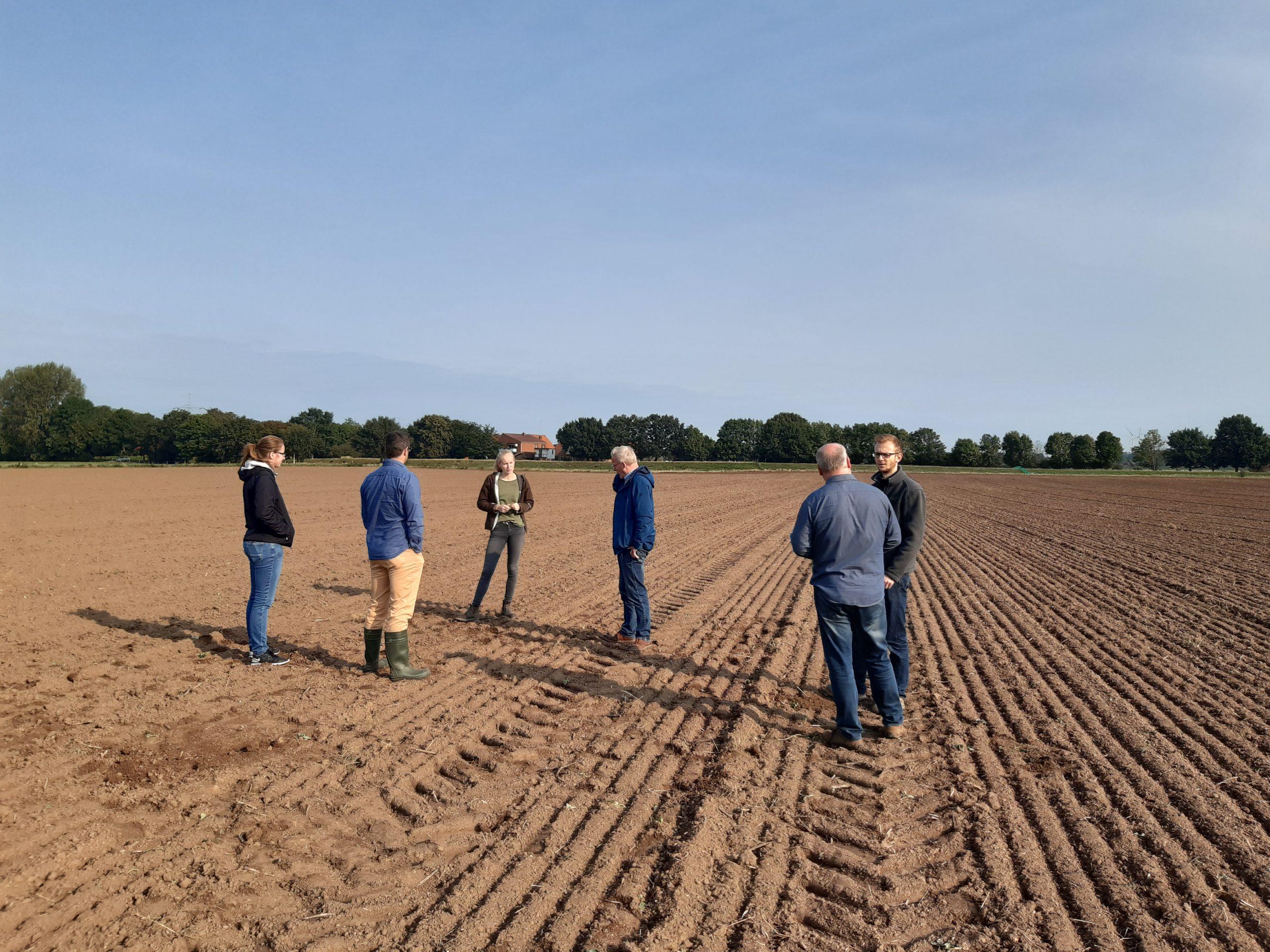 Betriebsleiterpaar Blohme • Michaelis, Treffen mit Ackerbauberatern, Foto: KÖN