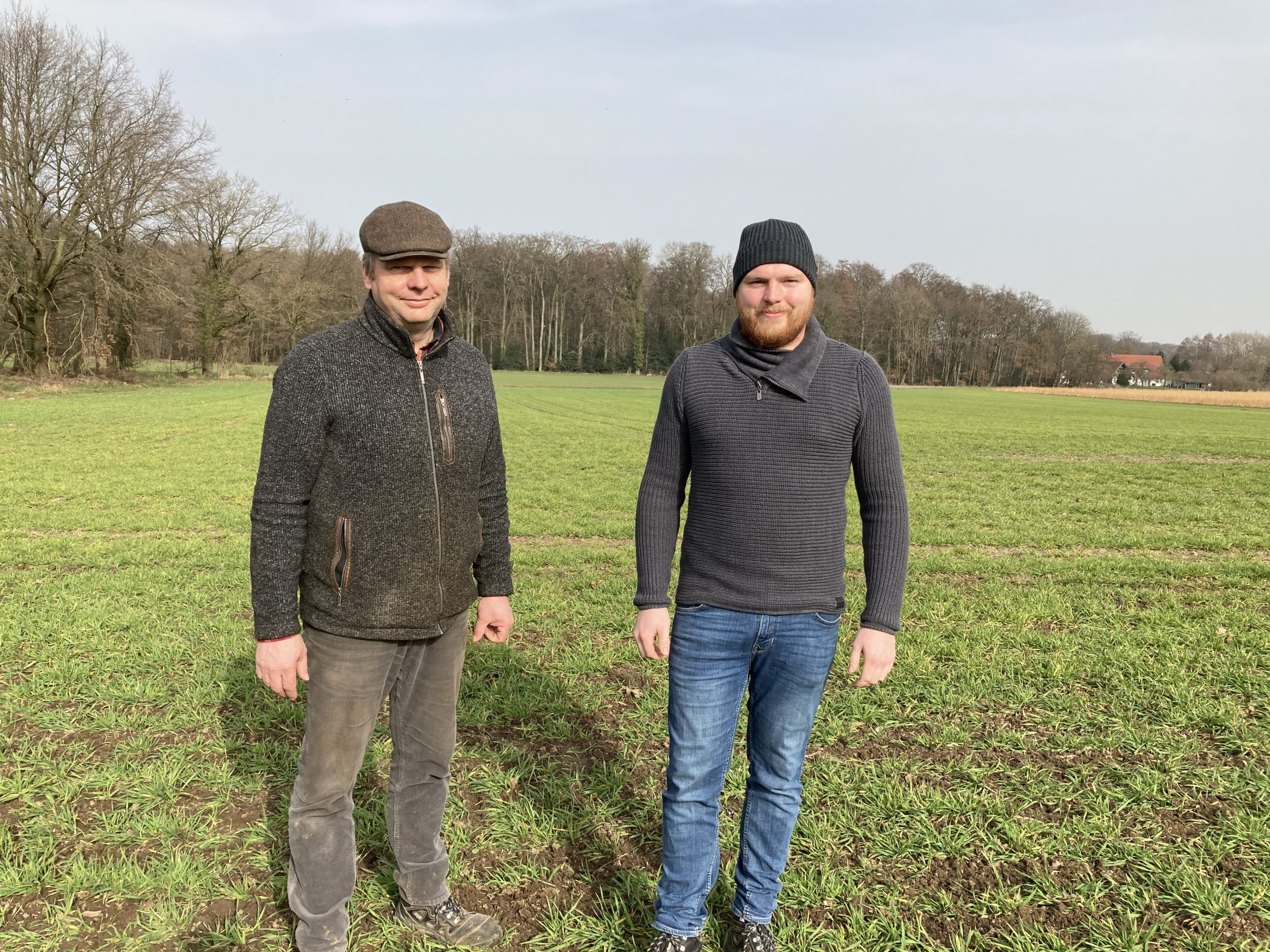 Dirk und Wilm Bringewatt, Foto: NAN