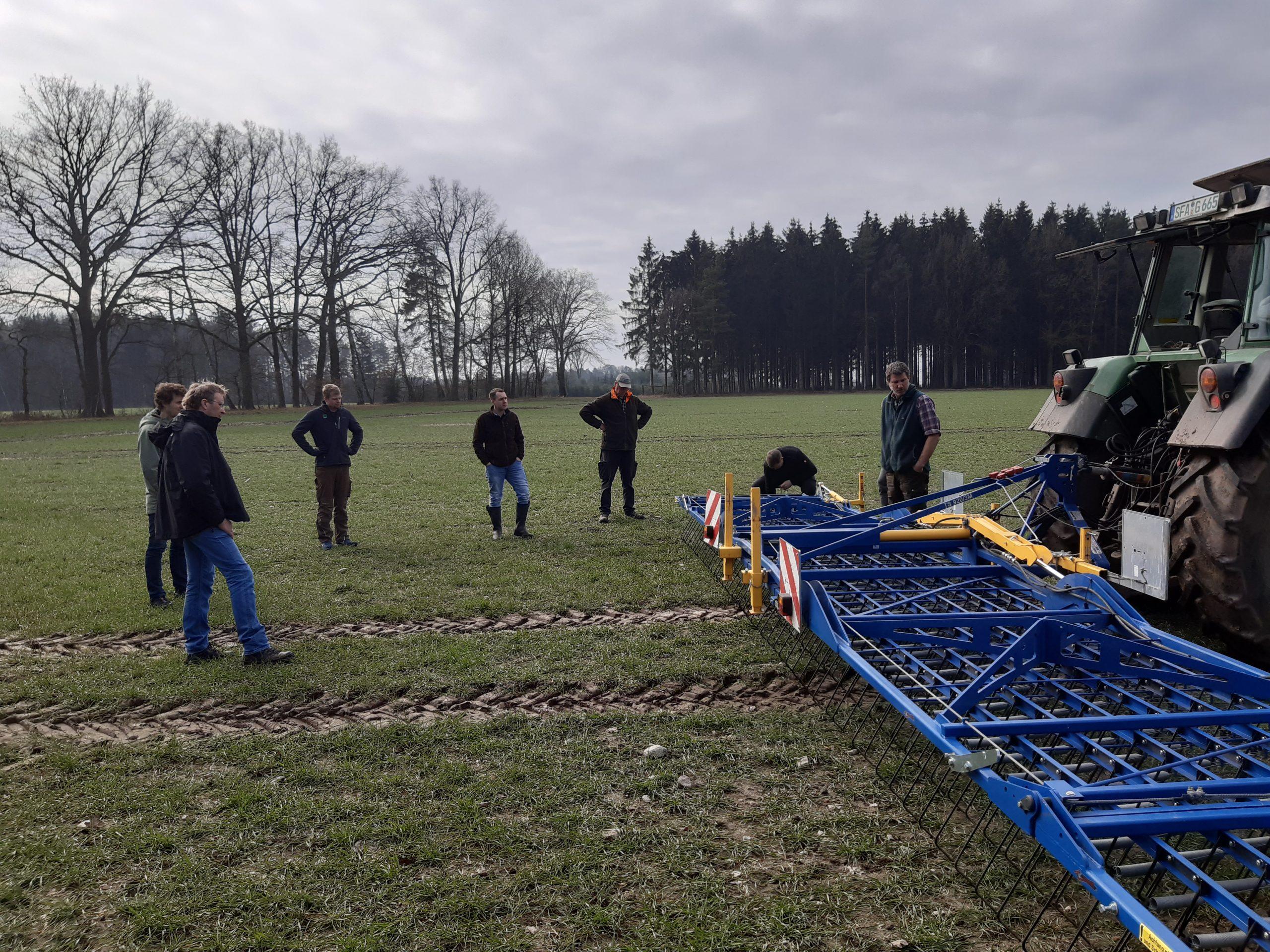 Betriebsleiterpaar Meyer • Meyerhoff und Ackerbauberater 25.03.2021, Foto: KÖN
